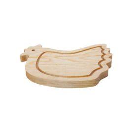 tabla-de-madera-gallina